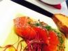 saumon au sel et asperge